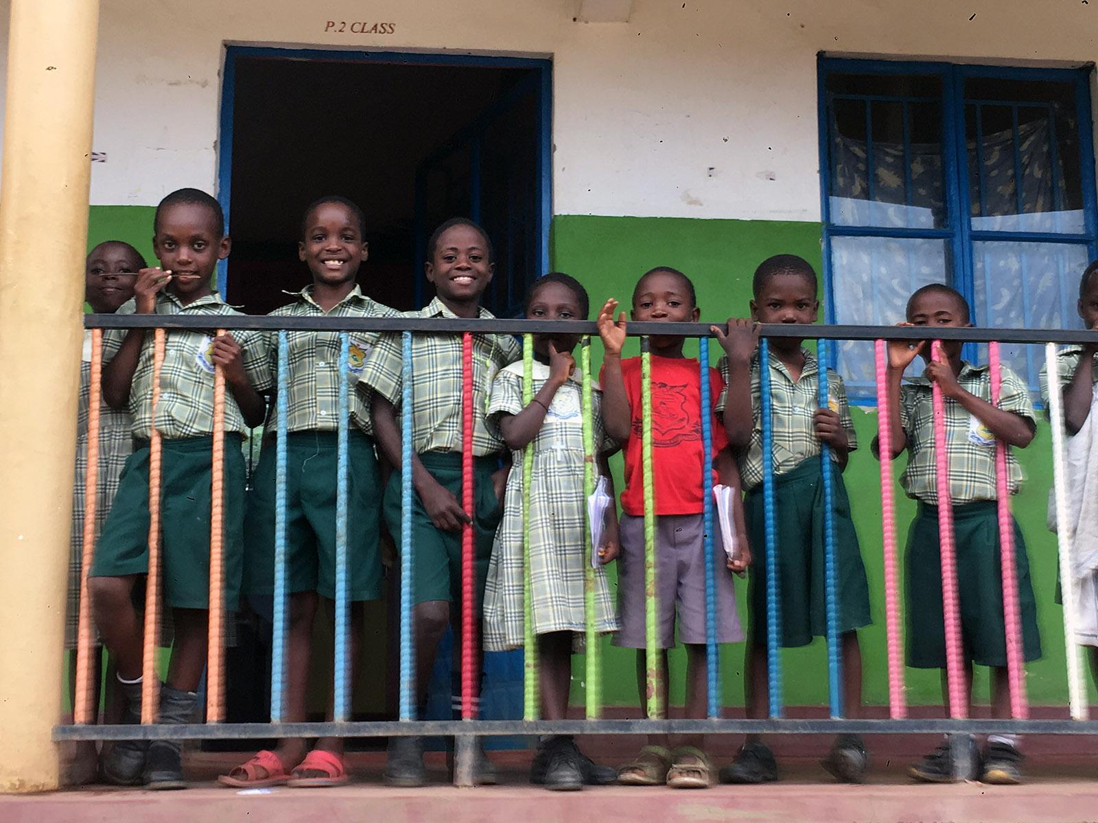 Children at Blessed Hill Uganda